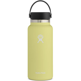 Hydro Flask Wide Mouth Drinkfles met Flex Cap 946ml, pineapple